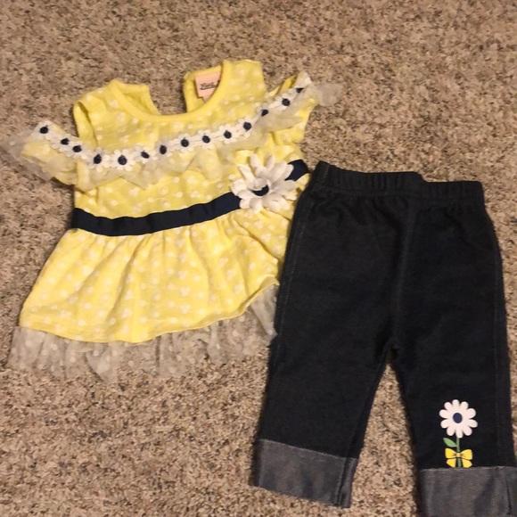 Toddler Girls Matching Set